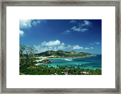 Eden Rock Framed Print