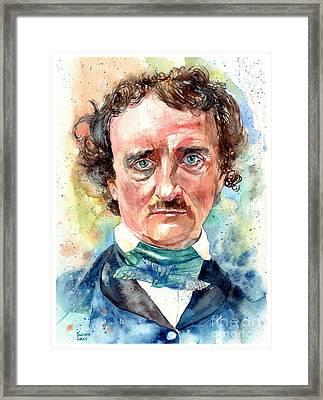 "Print Edgar Allen Poe Gothic Portrait Illustration Painting Wall Art 11x14/"""