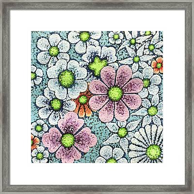 Efflorescent 1 Framed Print