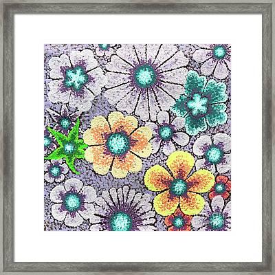 Efflorescent 11 Framed Print