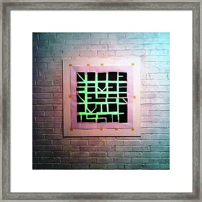 Eight - Wall Framed Print