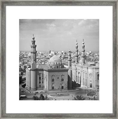 El Azhar Mosque Framed Print by Three Lions