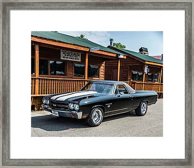 Framed Print featuring the photograph El Camino by Michael Sussman