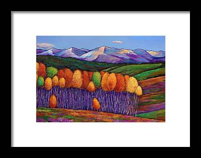 Bright Colors Framed Prints