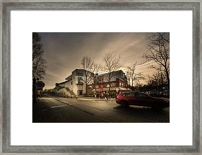 Emily Carr At Granville Island Framed Print
