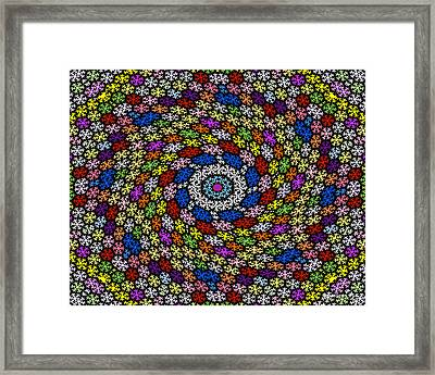 Emotions 915 Framed Print by Brian Gryphon