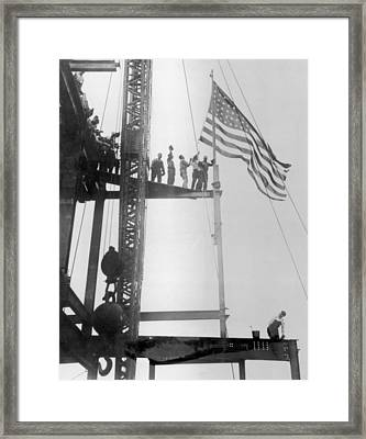 Empire State Building Framed Print by Fpg