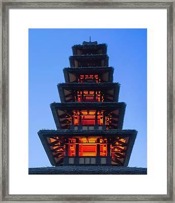 Enchanted Tiki Framed Print