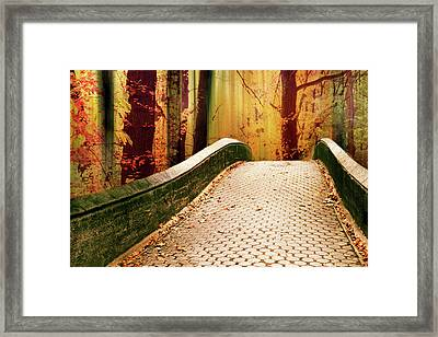 Framed Print featuring the photograph Enchanted Autumn by Jessica Jenney