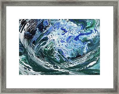 Enchanted Wave Framed Print