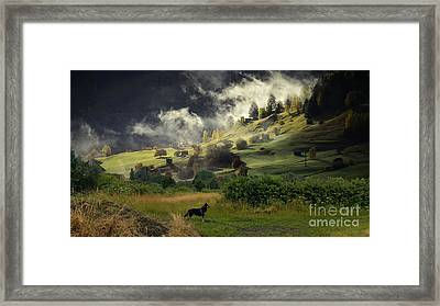 English Courtryside Framed Print