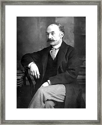 English Writer Framed Print by W. And D. Downey