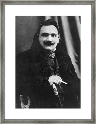 Enrico Caruso Framed Print by Hulton Archive