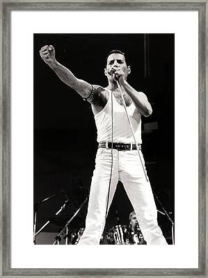 Entertainmentmusic. Live Aid Concert Framed Print