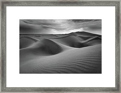 Eolian Undulations Framed Print by Alexander Kunz