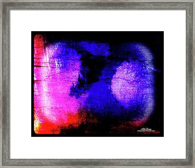 Escaping Depression Framed Print