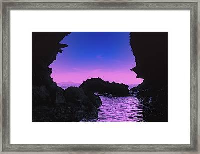Espiritu Santo Island Framed Print