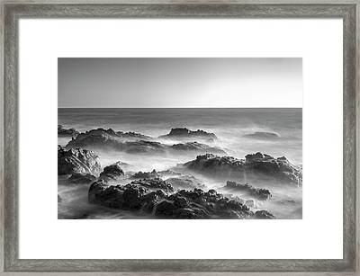 Framed Print featuring the photograph Eternal Battle Of Wind And Water by Quality HDR Photography