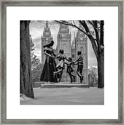 Eternal Family Framed Print