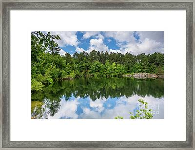 Euchee Creek Park - Grovetown Trails Near Augusta Ga 1 Framed Print