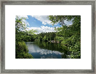 Euchee Creek Park - Grovetown Trails Near Augusta Ga 2 Framed Print