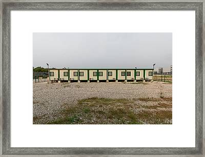 Euro New Topographics 14 Framed Print