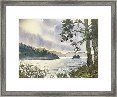 Evening On Derwentwater Framed Print