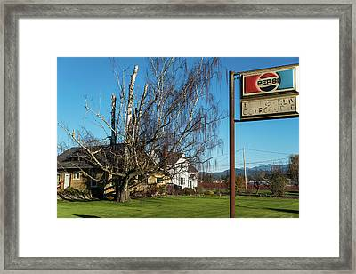 Evergreen Golf Course Framed Print