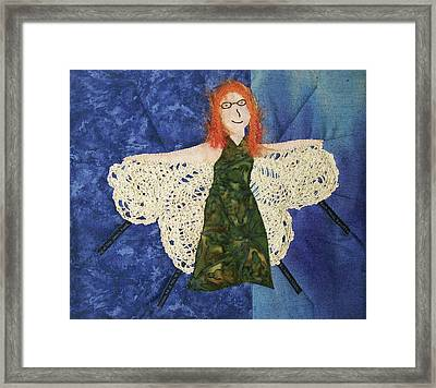 Every Fiber Of Her Being Framed Print
