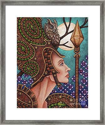 Exalted Beauty Athena Framed Print