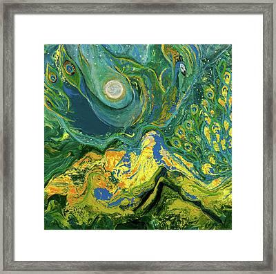 Eyes Of The Stars Framed Print