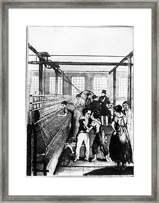 Factory Boys Framed Print by Rischgitz