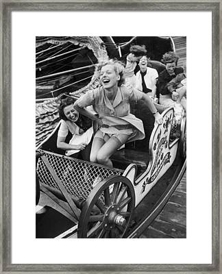 Fair Fun Framed Print