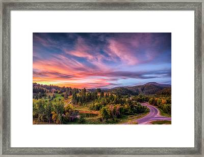 Fairytale Morning Framed Print