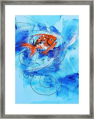 Fake Nemo Fish Framed Print