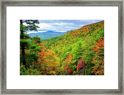 Framed Print featuring the photograph Fall In The Smokies by Andy Crawford