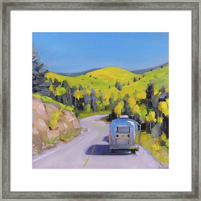 Fall Road Trip Framed Print
