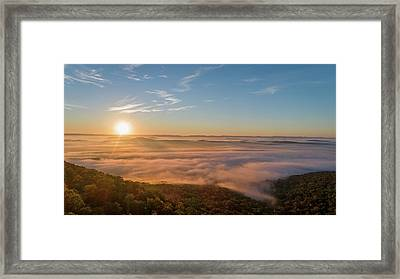 Fall Sunrise Framed Print