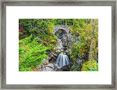 Falls Of Bruar, Perthshire Framed Print by David Ross