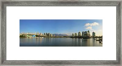False Creek Panorama Framed Print