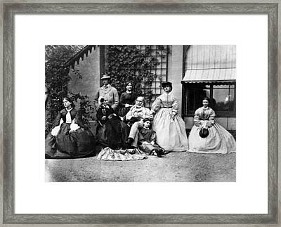 Family Portrait Framed Print by Hulton Archive