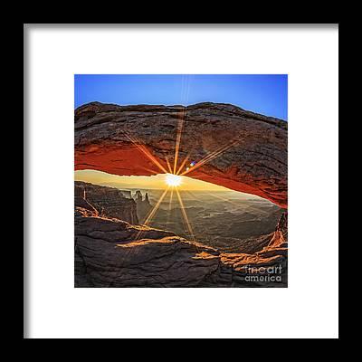 Western United States Framed Prints