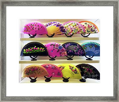 Fanned Out Framed Print