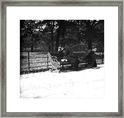 Fast Asleep Framed Print by Paul Martin