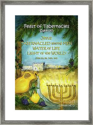 Feast Of Tabernacles Framed Print