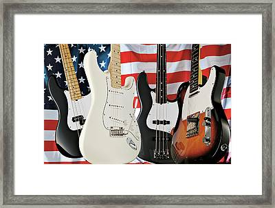 Fender 2008 American Standard Series Framed Print by Guitarist Magazine