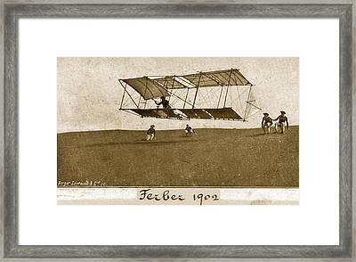 Ferbers Glider Framed Print by Hulton Archive