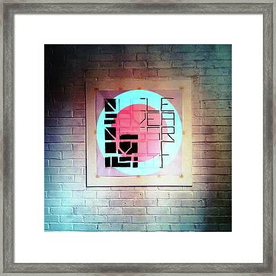 Fifteen - Wall Framed Print