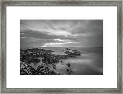 Framed Print featuring the photograph Fine Art Of The Sea by Bruno Rosa