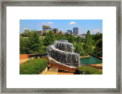 Finlay Park Columbia South Carolina Framed Print